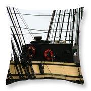 Friendship Of Salem Rigging Throw Pillow