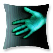 Friendship Out Of This World Throw Pillow