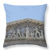 Frieze - Capitol - Washington Dc Throw Pillow