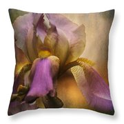 Frilled Beauty Throw Pillow
