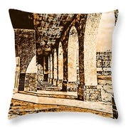Frisco Depot Throw Pillow