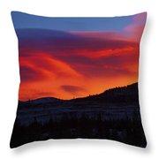Frisco Sunrise Throw Pillow
