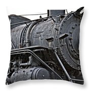 Frisco Train Locamotive One Throw Pillow