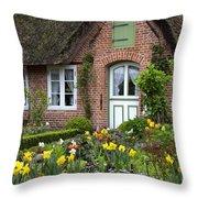 Frisian House Throw Pillow
