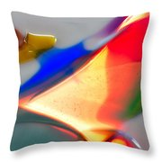 Frisky Puppy Throw Pillow
