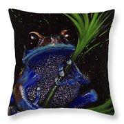 Frog Throw Pillow
