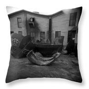 Frog Switch Geometry Throw Pillow