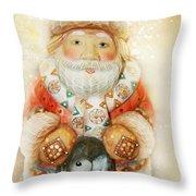 frohe Weihnachten Throw Pillow