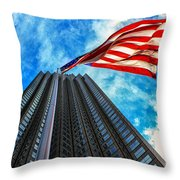 From A Different Perspective II Throw Pillow