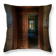 From A Door To A Window Throw Pillow