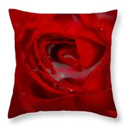 From A Kiss Of Rain Throw Pillow