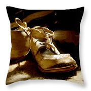 From Baby To Man In The Blink Of An Eye Throw Pillow