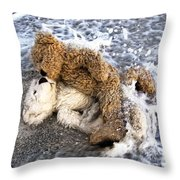 From Bear To Eternity - By William Patrick And Sharon Cummings Throw Pillow