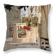 From Books Throw Pillow by Carol Leigh
