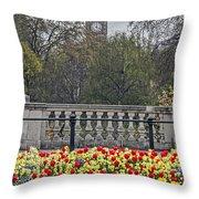 From Buckingham To Big Ben Throw Pillow