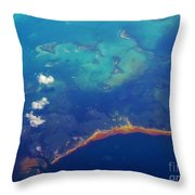 From Halifax To The Caribbean Throw Pillow