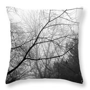 From Hence We Come Throw Pillow