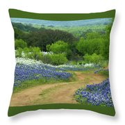 From Here To There Throw Pillow