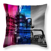 From Light To Dark Throw Pillow