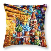 From Moscow To Paris Throw Pillow