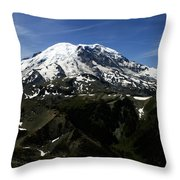 From Mount Fremont Lookout Throw Pillow