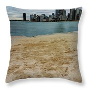 From North Avenue Beach Throw Pillow