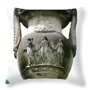 From Olden Times IIi Throw Pillow