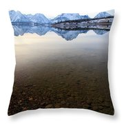 From Pebbles To Mountains Throw Pillow