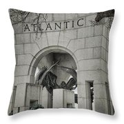 From The Atlantic Throw Pillow