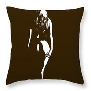 From The Back 1081 .01b Throw Pillow