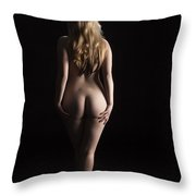 From The Back 1081 .02 Throw Pillow