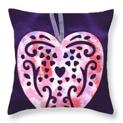From The Beautiful Heart Of A Child Throw Pillow