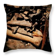 From The Bone Yard 2 Throw Pillow