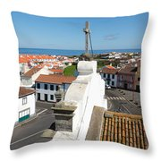 From The Church Tower Throw Pillow