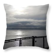 From The Deck Throw Pillow