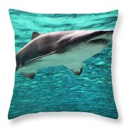 From The Deep II Throw Pillow by Suzanne Gaff