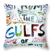 From The Gulfs Of Night Throw Pillow