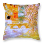 From The Light Of The Moon Throw Pillow