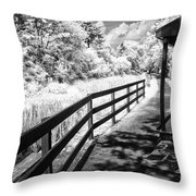 From The Lock Masters House Throw Pillow