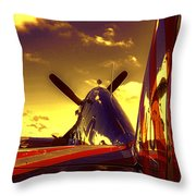 From The Tail Throw Pillow