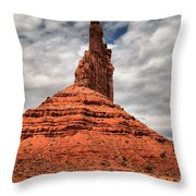 From The Valley To The Sky Throw Pillow