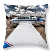 From The Wing Throw Pillow