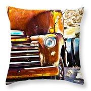 From Tucson To Tucumcari Throw Pillow