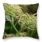 Fronds By Jammer Throw Pillow