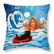 Front Cover Throw Pillow