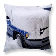 Front Loaded Throw Pillow