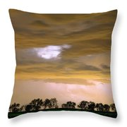 Front Row Seat For The Storm Throw Pillow