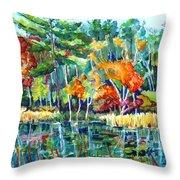 Frontenac Park Throw Pillow