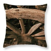 Frontier Travel Throw Pillow