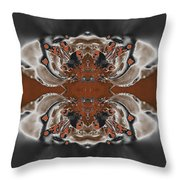 Frost And Woodsmoke 3 Throw Pillow